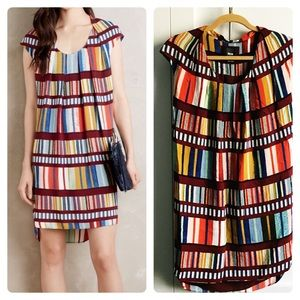 Anthropologie MAEVE colorful dress